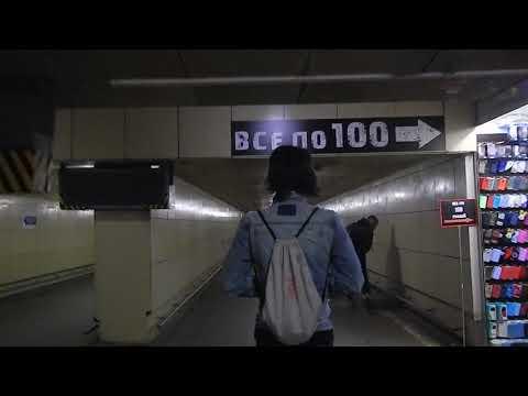 Приезд на Курский вокзал Москвы