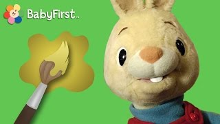 Yellow | Learning Colors | Harry the Bunny | BabyFirstTV