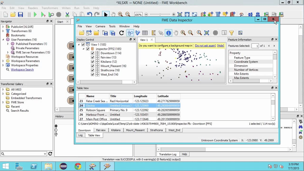 How to convert Excel to Shapefile 2015 - YouTube