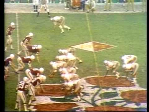 1971 Rose Bowl Ohio State vs. Stanford Part 2