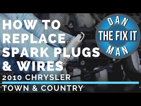 2010 CHRYSLER TOWN & COUNTRY – HOW TO REPLACE SPARK PLUGS & SPARK PLUG WIRES – COMPLETE DIY
