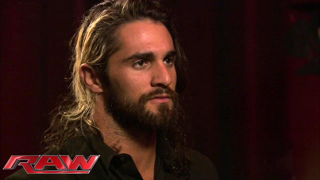 Seth Rollins Addresses His Loss At Royal Rumble January 26 2015 Youtube