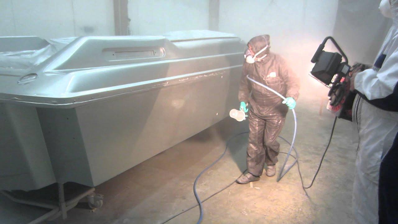 Lasikuituveneen korjaus video