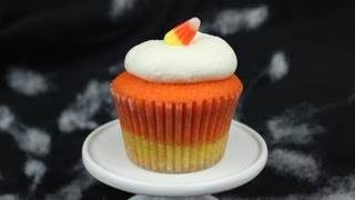 How to Make Candy Corn Cupcakes!
