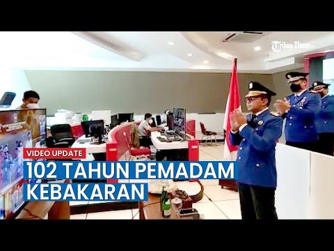 HUT Pemadam Kebakaran Dan Penyelamatan Ke 102, Kemendagri Apresiasi Smart City Makassar