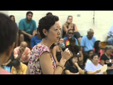 Department of Interior begins Native Hawaiian recognition hearing in Hilo (Rhea Suh)