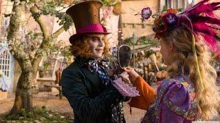 Джонни Депп сошел с ума? Съемки фильма Алиса в Зазеркалье Behind the scenes