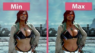 Tekken 7 PC Min vs. Max Graphics Comparison 4K UHD