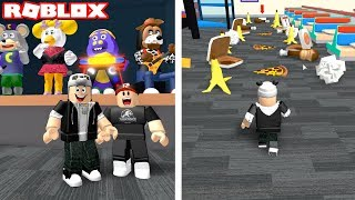 Escape from the Market of Cute Mouse and Friends!! - Roblox Escape With Panda Chuck E Cheese Obby!