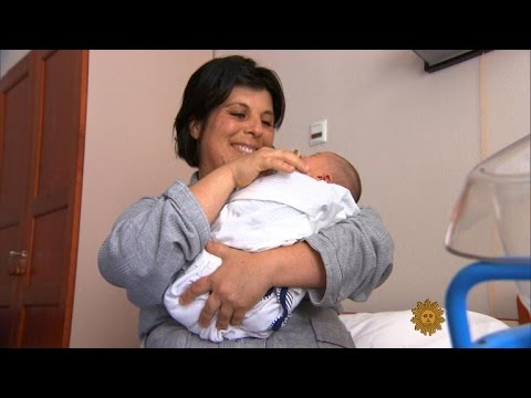 Italy's increasingly rare babies