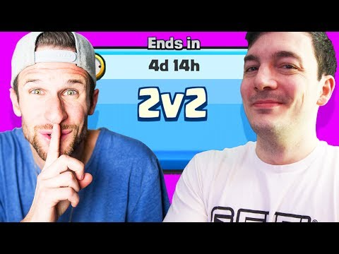 2V2 FUN WITH NICK • So Funny! • Clash Royale
