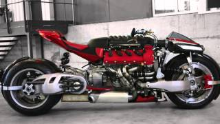 Lazareth LM 847 - The 470 horsepower, Tilting 4 Wheel Motorcycle