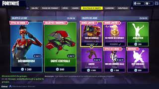 BOUTIQUE FORTNITE DU 14 AVRIL 2018 !!! ~ Item Shop 14 april 2018 ~ BATTLE ROYALE