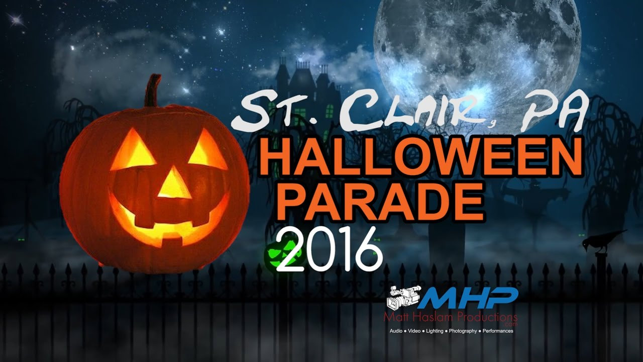 57th Annual St Clair, PA Halloween Parade 2016