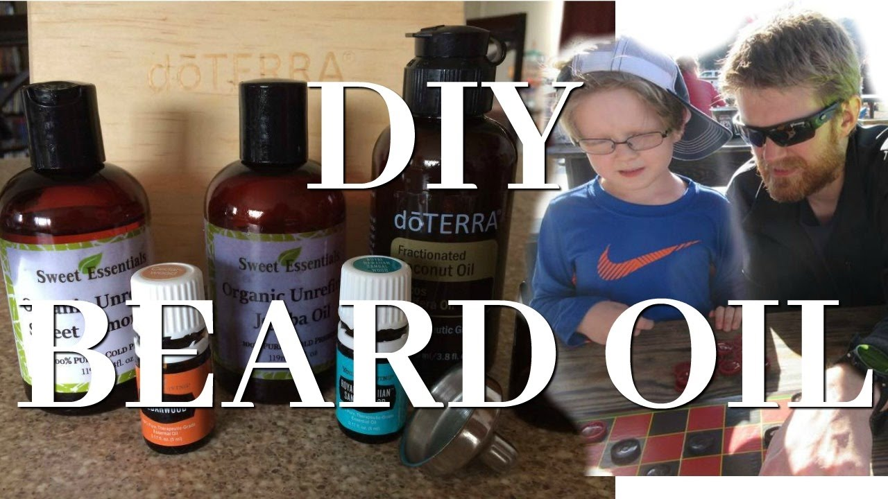 HOW TO MAKE BEARD OIL | DIY
