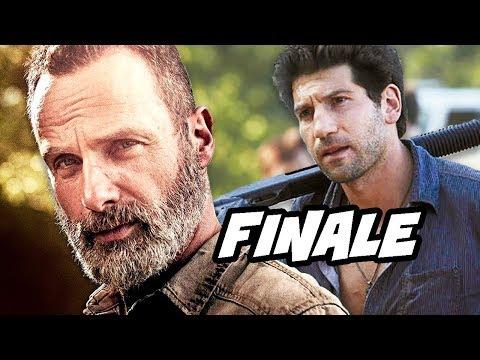 Walking Dead Season 9 Episode 5 - Rick Grimes Finale and Whisperers Trailer