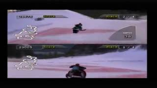 Sno Cross 2 PS2 Multiplayer Gameplay (Oxygen Games)