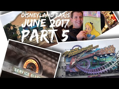 Disneyland Paris Vlog - June 2017 - Part 5 - more Disney fun, Disney Studios and shopping