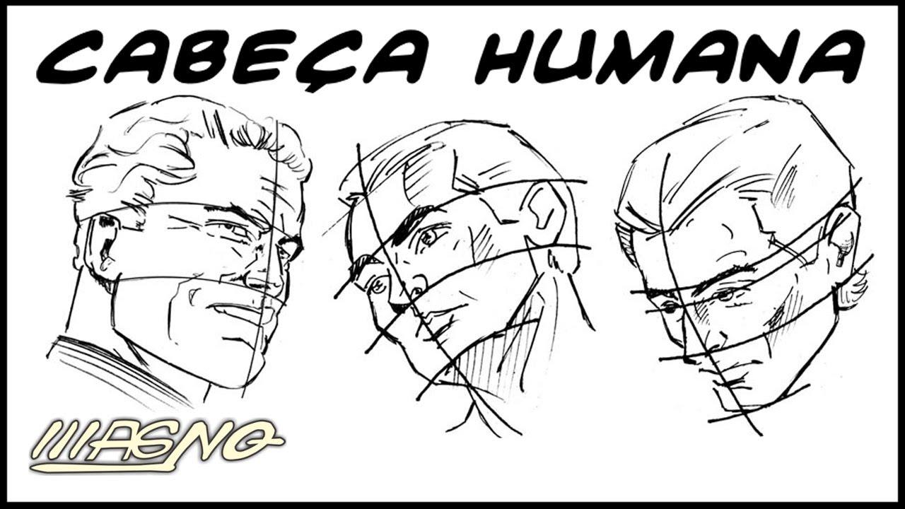 Amado Curso de Desenho: Como Desenhar Rosto (How to Draw Human Face  XH88