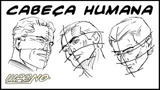 Curso de Desenho: Como Desenhar Rosto (How to Draw Human Face)