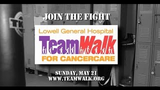 Save the Date for Lowell General Hospital's TeamWalk for CancerCare on Sunday May 21, 2017
