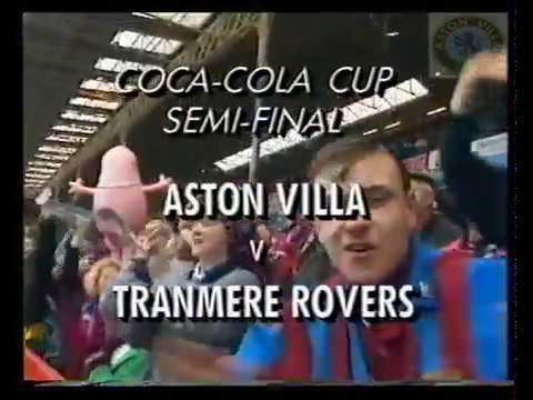 Aston Villa 3 Tranmere Rovers 1 - Coca Cola Cup Semi Final 2nd Leg - 27th Feb 1994