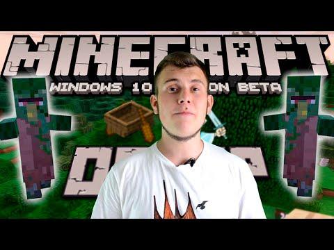Minecraft News: Windows 10 BETA(MINECRAFT)