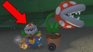 Playable Piranha Plant in Mario Kart 8! Mod Showcase