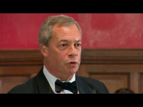 EU Debate | Nigel Farage MEP | Opposition