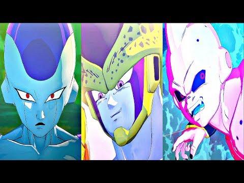 Dragon Ball Z Kakarot - All Bosses / Boss Fights + Ending