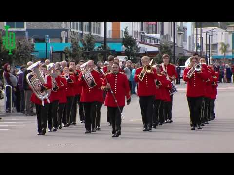 Parade Of Bands: New Zealand National Brass Band Championships 2016