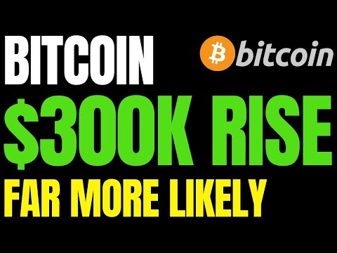 $100K Bitcoin Predictions Way Off-Base, $300K Rise Far More Likely | $1M BTC By 2025 New Forecasts