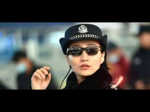 5cc3ed311 Os Óculos De Reconhecimento Facial Da Polícia Chinesa Que Identificam  Suspeitos Em Tempo Real - YouTube