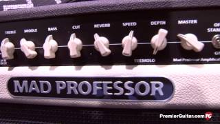 NAMM '14 - Mad Professor Old School 20RT & Simble Overdrive Demos