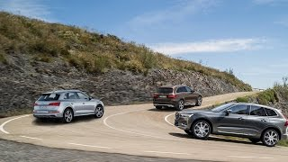 2017 Audi Q5 Vs 2016 Mercedes GLC Vs 2017 Volvo XC60