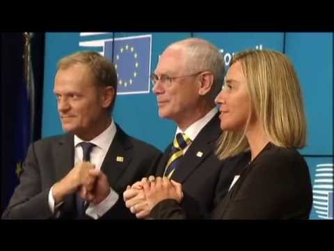 New EU leadership: Italy's Mogherini and Poland's Tusk elected for Top EU posts
