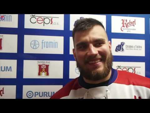 Naši fanoušci byli skvělí, chválí obránce Kryštof Kulhánek