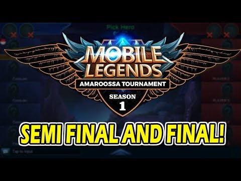 Mobile Legends Amaroossa Tournament Semi Final and Final ! - 동영상