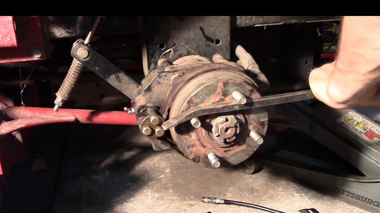 Toro Z Master Brake adjustment