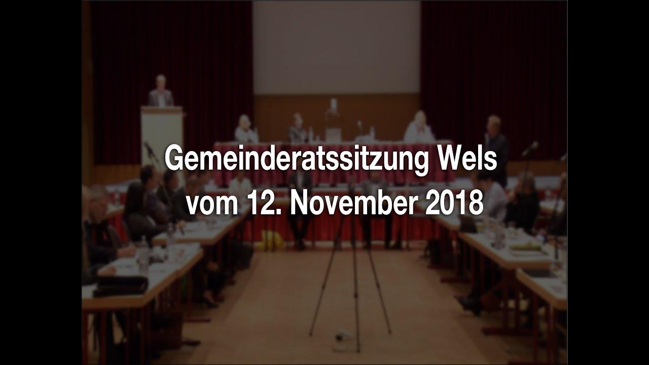 Gemeinderatssitzung Wels - 12.11.2018youtube.com