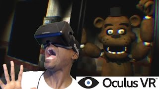 One Night At Freddy S 3D Oculus Rift DK2