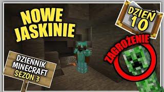 Dziennik z Minecraft (PL) Jaskinia czy Kopalnia? - Sezon 3 Dzień 10