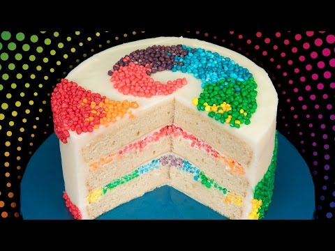 Thumbnail: Rainbow Nerds Candy Cake from Cookies Cupcakes and Cardio