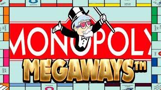 Monopoly Megaways- Voitto ja kotitus, kaikki asemat bonukseen!