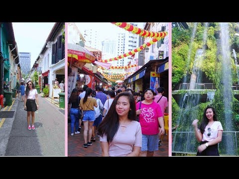 TRAVEL VLOG: Best spot in Singapore + Food trip