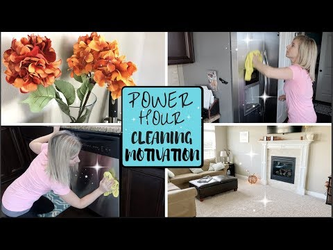 POWER HOUR CLEANING | SPEED CLEAN WITH ME 2017 | ULTIMATE CLEANING MOTIVATION