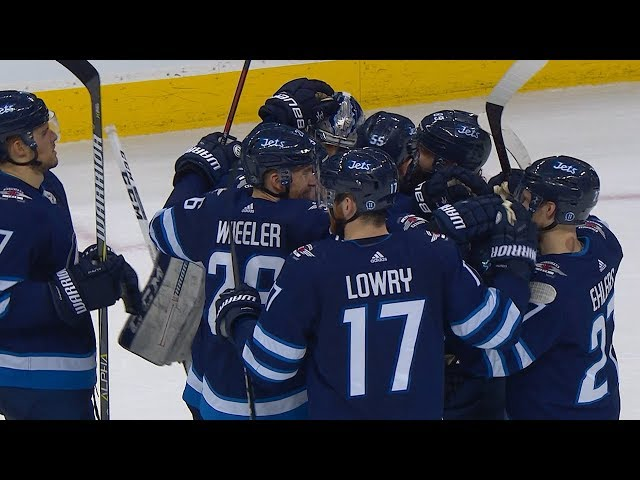 Laine pots SO winner to lift Jets