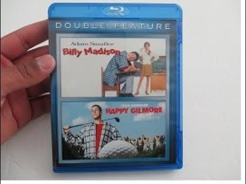 Download Adam Sandler Billy Madison / Happy Gilmore Blu-ray Unboxing