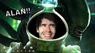 alan el alien   alien isolation 4 juegagerman
