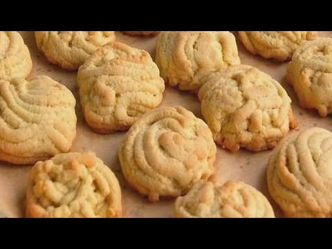 Как приготовить домашнее печенье хризантема.   How to cook homemade cookies chrysanthemum.